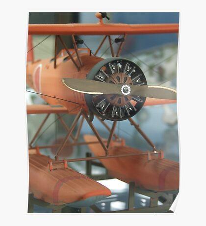 Orange Wings (AIRPORT) Poster