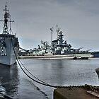 Schlachtschiff Bucht _ Fall River, Massachusetts von Poete100