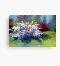 Wisteria Garden from Original Pastel painting by Madeleine Kelly Canvas Print