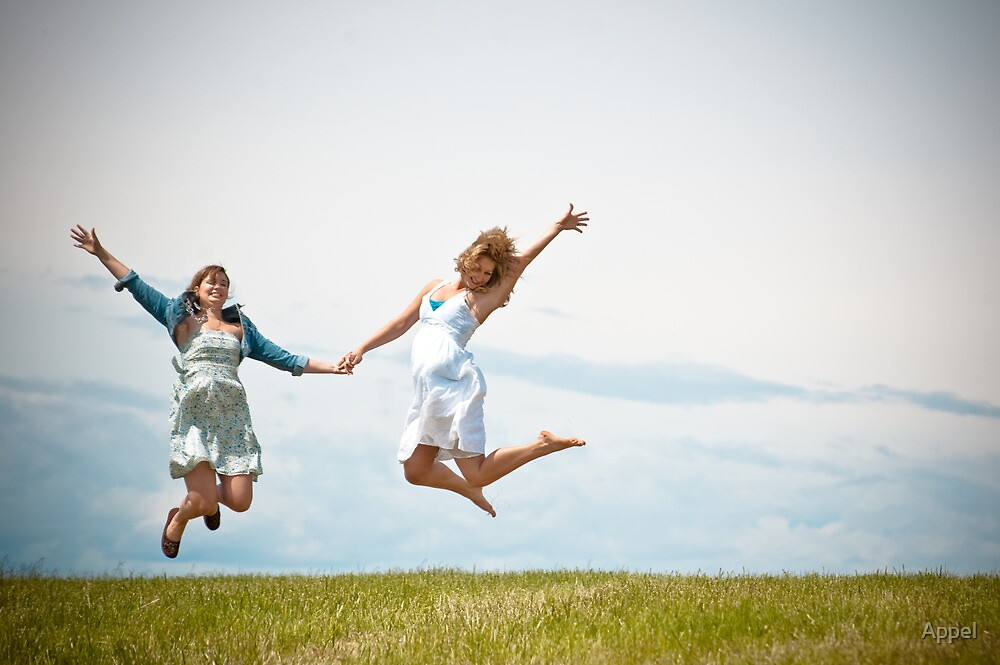 Jumping for Joy!!! by Appel