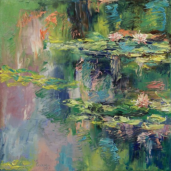 Water Lilies by Michael Creese