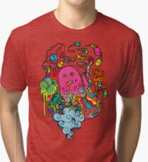 Pop Monster Color Tri-blend T-Shirt
