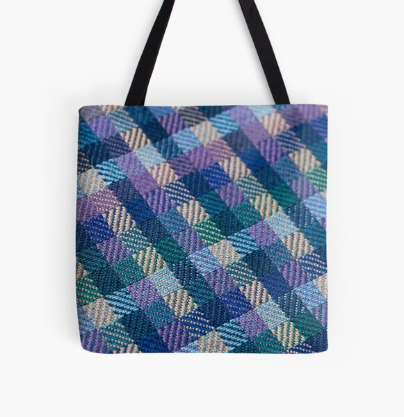 Inverted Twill All Over Print Tote Bag