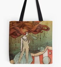 The tight-rope walker Tote Bag