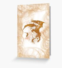 Dragonfight-cooltexture Greeting Card