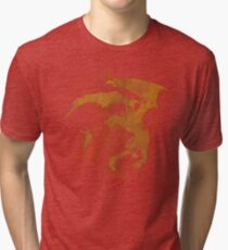 Dragonfight-cooltexture Tri-blend T-Shirt
