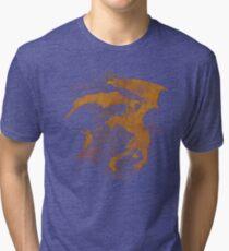 Dragonfight-cooltexture Tri-blend T-Shirt