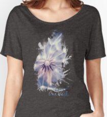 Dandelion Blue Women's Relaxed Fit T-Shirt
