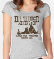 Big Thunder Mining Co Women's Fitted Scoop T-Shirt