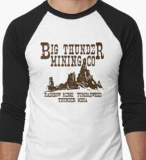 Big Thunder Mining Co Men's Baseball ¾ T-Shirt