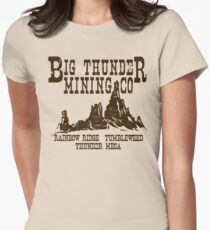 Big Thunder Mining Co Women's Fitted T-Shirt