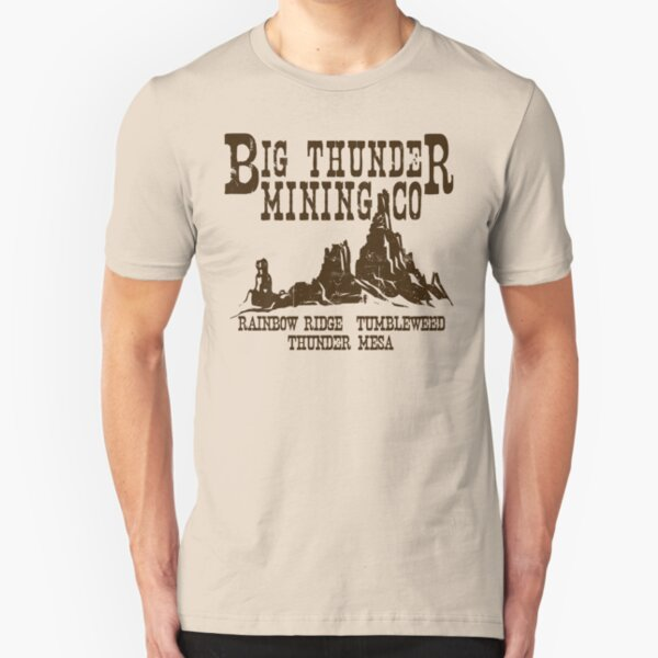 Big Thunder Mining Co Slim Fit T-Shirt