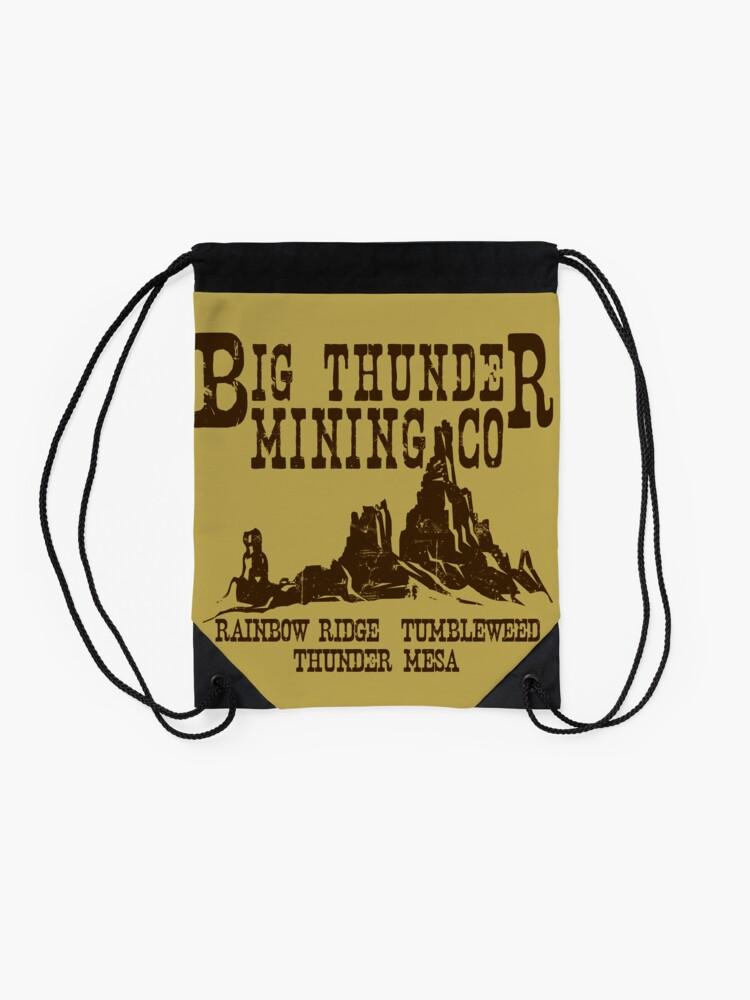 Alternative Ansicht von Big Thunder Mining Co Turnbeutel