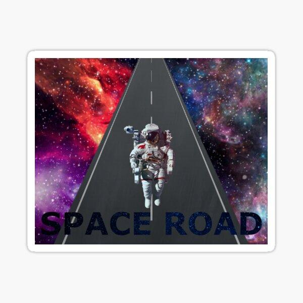 space road Sticker