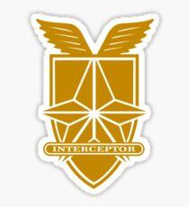 Mad Max Interceptor Badge Sticker