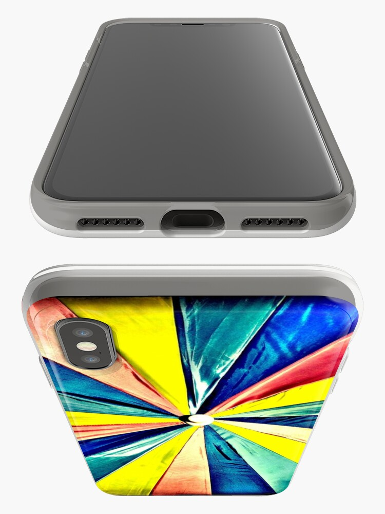 Alternate view of Under My Umbrella - Bright Art Photography iPhone Case & Cover