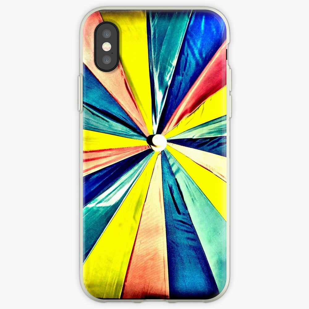 Under My Umbrella - Bright Art Photography iPhone Case & Cover