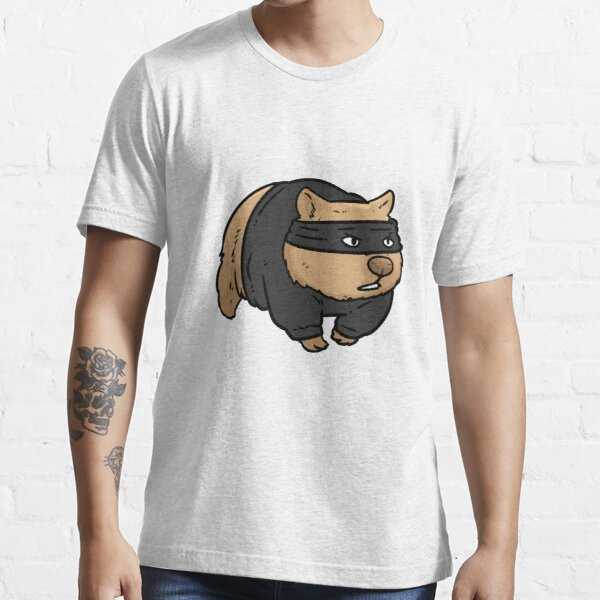 Robber Wombat Essential T-Shirt