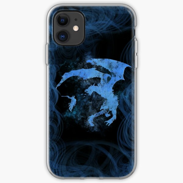 Dragonfight-cooltexture Inverted iPhone Soft Case