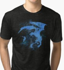 Dragonfight-cooltexture Inverted Tri-blend T-Shirt