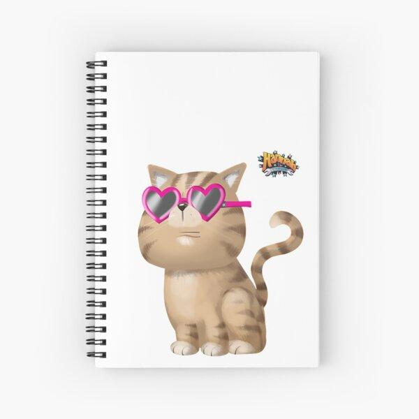 Cool Cat Spiral Notebook