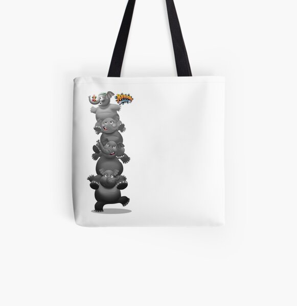 Operation Elephant Stack All Over Print Tote Bag