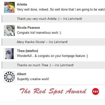 The Red Spot Award by Albert