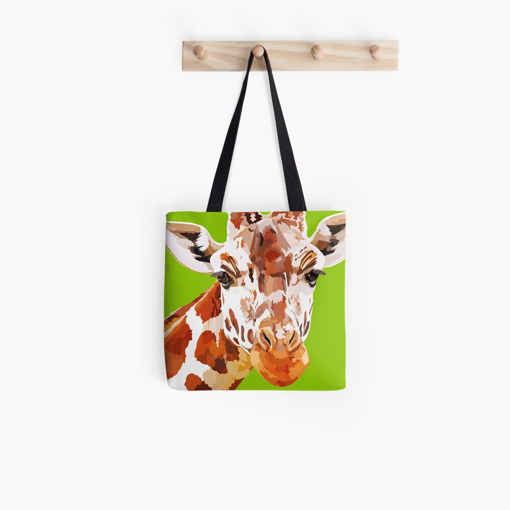 Giraffe - What's up? Tote Bag