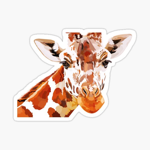 Giraffe - What's up? Sticker