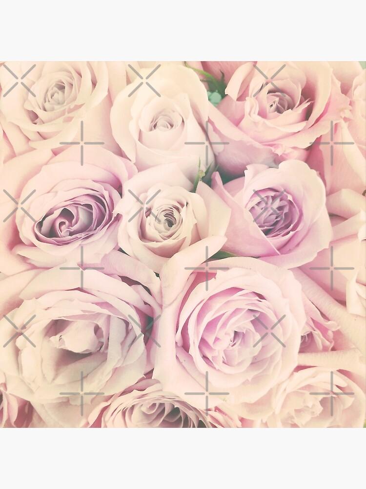 Mothers Day Present - Rose Blush Pastel Gift by OneDayArt