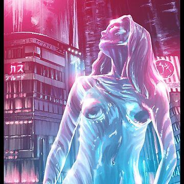 Glass Robot Illustration 012 by Sokoliwski