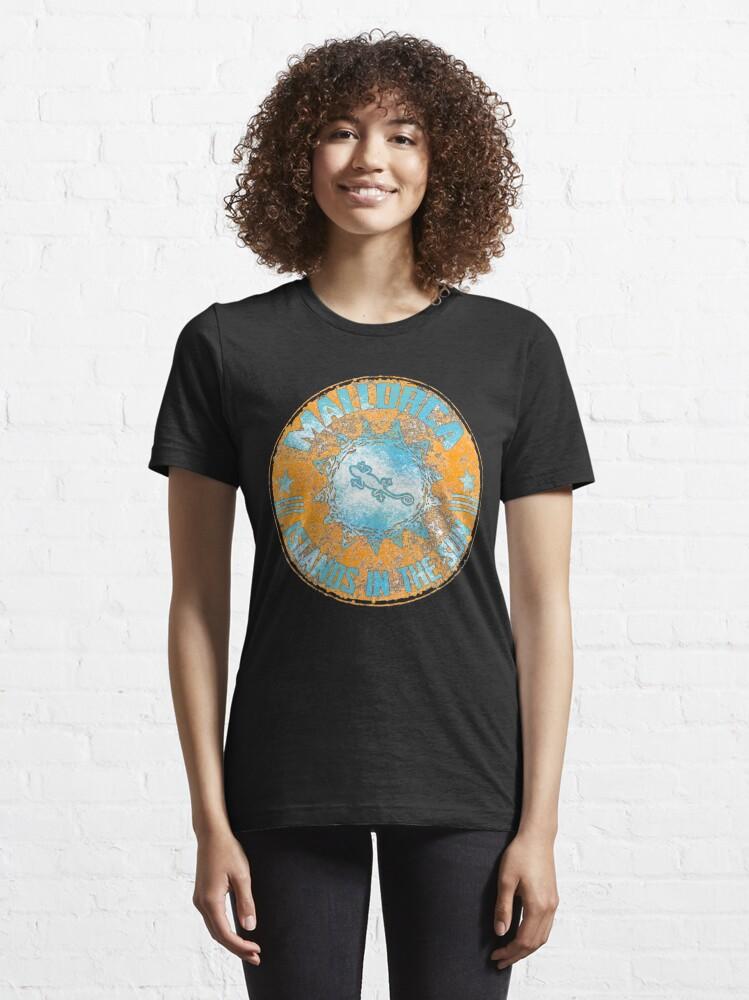 Alternative Ansicht von Mallorca / Illes Baleares   Essential T-Shirt