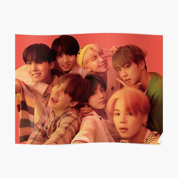 BTS MAP OF THE SOUL: PERSONA VERSION 1 // GROUP Poster