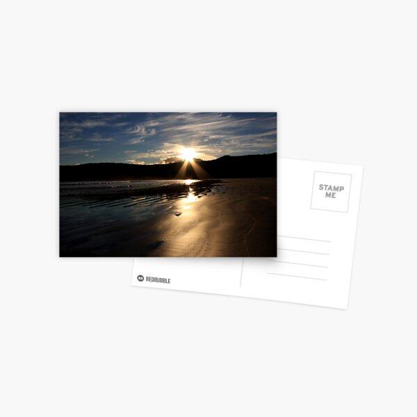 Sunset at Norman Beach Postcard