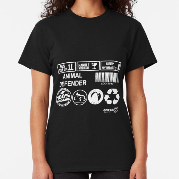 Animal advocate (white) Classic T-Shirt