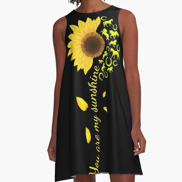 You are my sunshine - Horse A-Line Dress