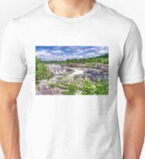 Great Falls Park -  Waterfalls Unisex T-Shirt