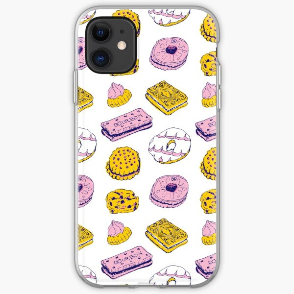 Pink Biscuits iPhone Soft Case