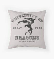 Summon A Dragon  Throw Pillow