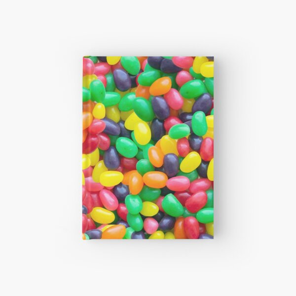 Jelly Bean Real Candy Pattern Hardcover Journal