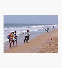Beach ball fun Photographic Print