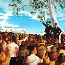 The Shearer's Strike - Barcaldine 1891 by Cary McAulay