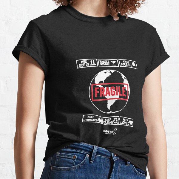 Fragile planet (white) Classic T-Shirt