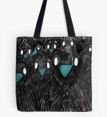 Raven in Team Tote Bag
