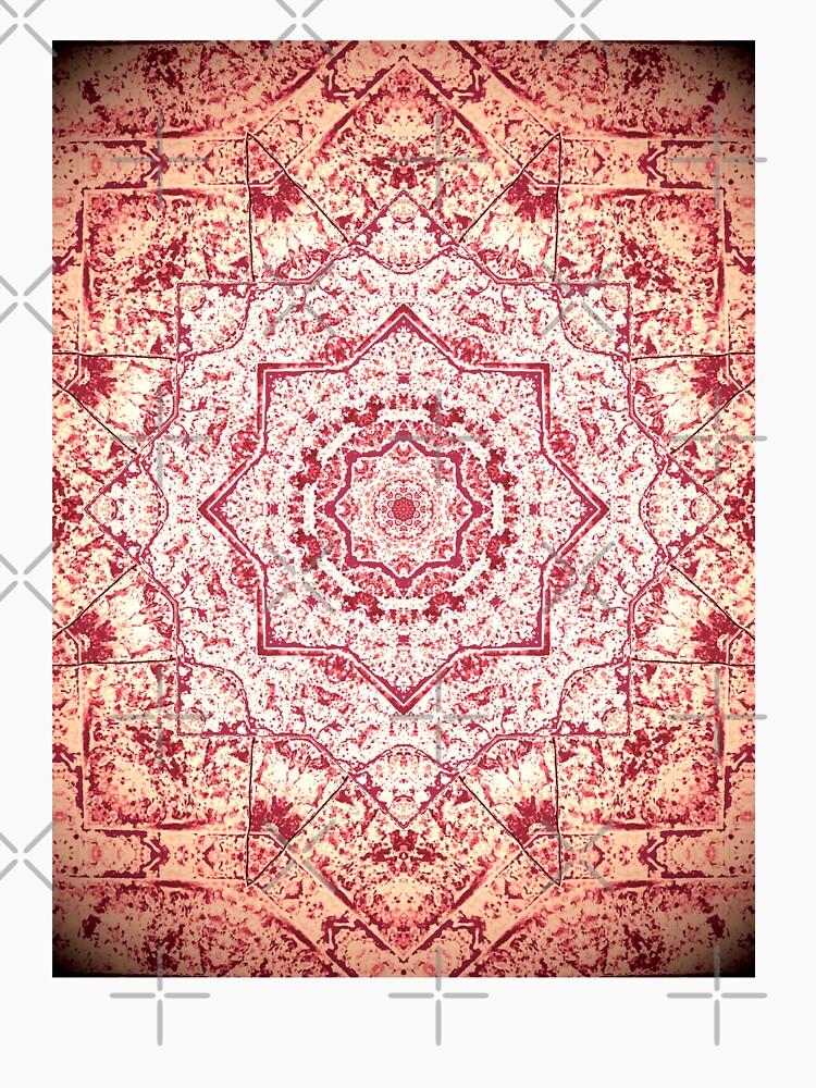Gift for Yogi - Zen Pink Mandala Design - Yoga Present by OneDayArt