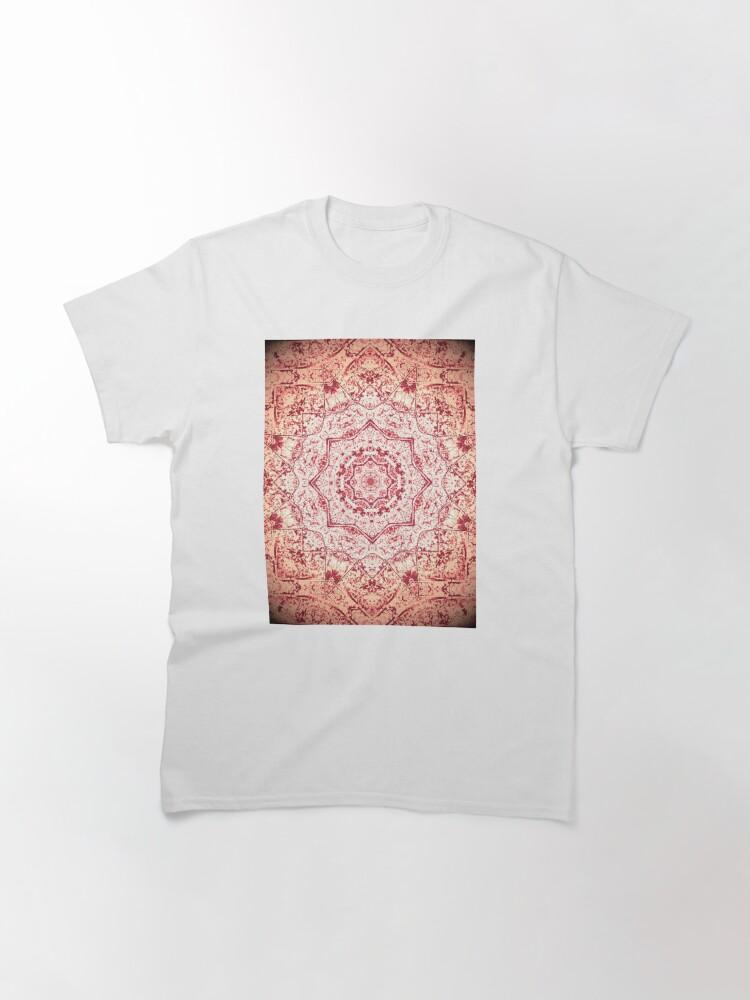 Alternate view of Gift for Yogi - Zen Pink Mandala Design - Yoga Present Classic T-Shirt