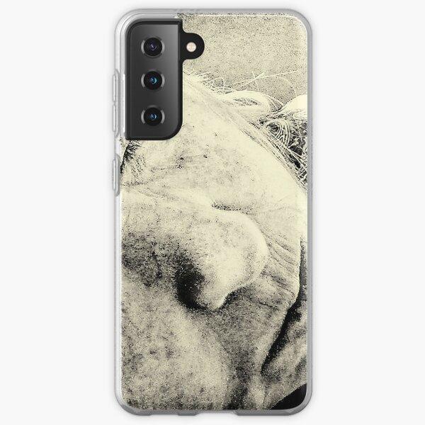 Sleeping old  Samsung Galaxy Soft Case