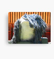 Losing Face, Outside an Asian Restaurant Canvas Print