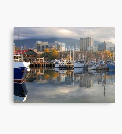 Reflections of Hobart Metal Print