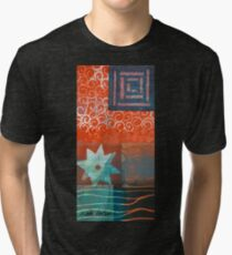 Some stars just want to be alone in the desert Tri-blend T-Shirt
